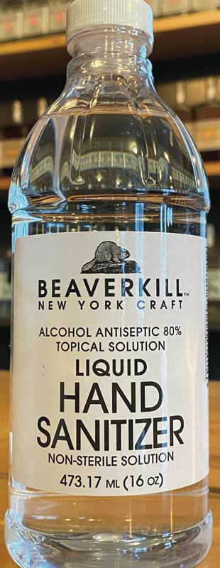 Beaverkill NY Distilled Hand Sanitizer - 16oz
